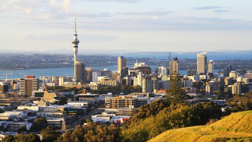 La ville d'Auckland, en Nouvelle-Zélande, où les étrangers ne pourront plus acheter un logement.