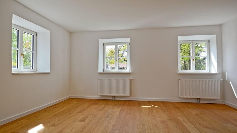 L'intérieur d'un logement vide, photo d'illustration.