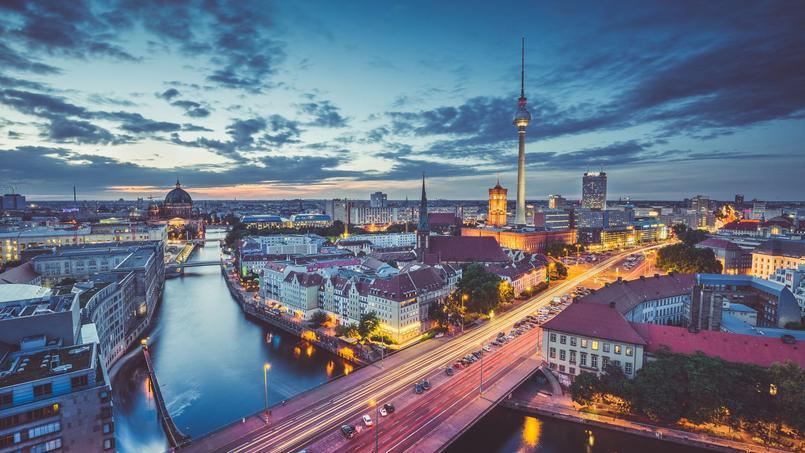 Vue sur la capitale allemande.