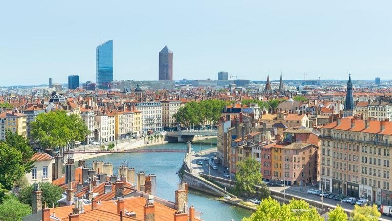 Retour progressif à la sagesse des prix immobilier entrevu dans les années qui viennent  <i>(ici, illustration de Lyon)</i>.