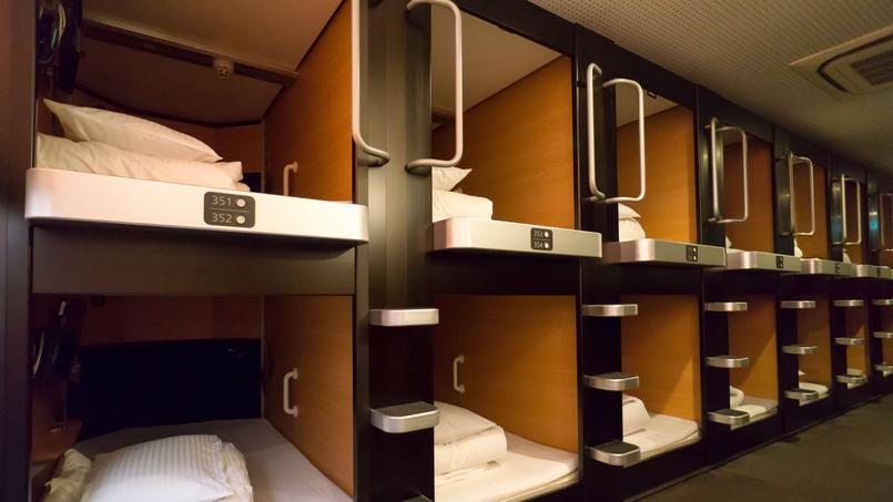 Un hôtel «capsule» japonais, qui a inspiré la société espagnole.