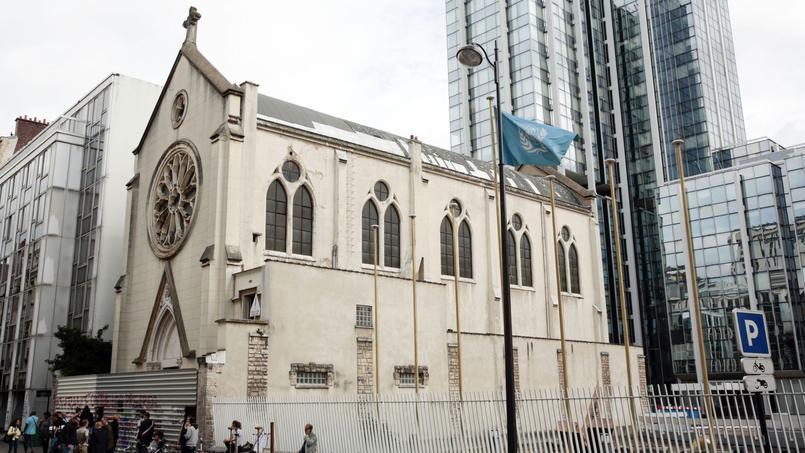 À Paris, l'église Sainte-Rita peine à se vendre 16.000 euros le mètre carré