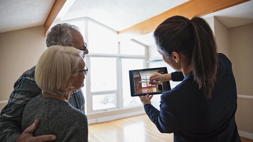Avec la réalité augmentée, des logiciels d'architecture d'intérieur 3D suggèrent des idées décos, proposent de créer des plans, de dessiner et d'aménager sa future maison.