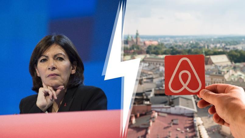Anne Hidalgo, la maire de Paris, part en guerre contre Airbnb.