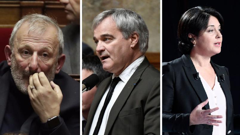 De gauche à droite: François Pupponi, Richard Lioger et Sylvia Pinel
