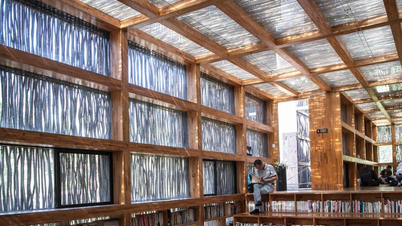 CHINA-ARCHITECTURE-LIBRARY