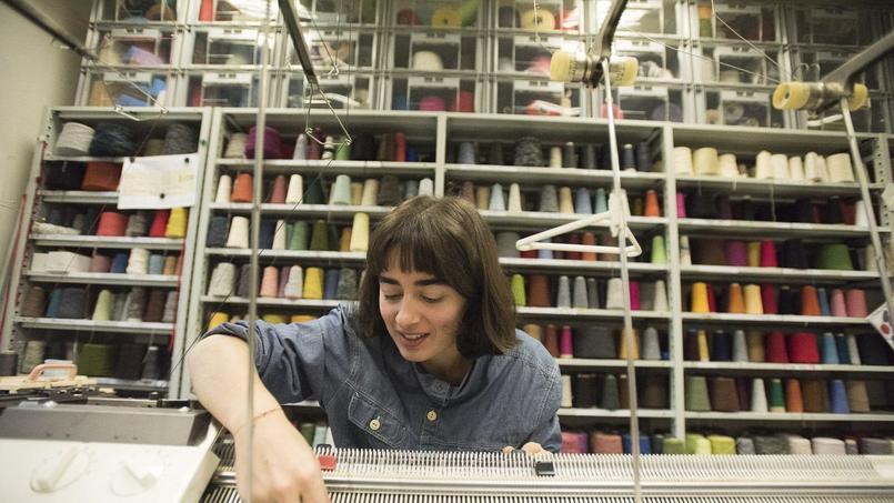 L'école des Arts Déco possède un atelier de design textile et matière (ici une machine à tisser).