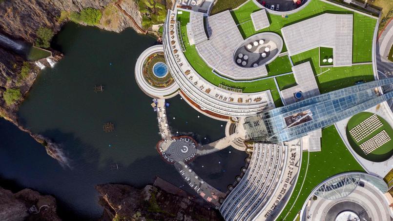 CHINA-LIFESTYLE-ECONOMY-HOTELS-QUARRY