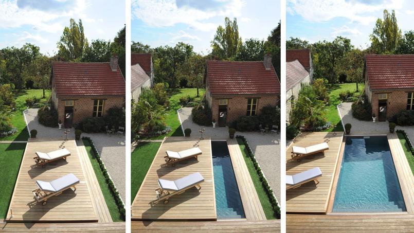 Trophée d'argent dans la catégorie «couverture de piscine».