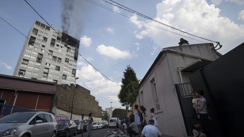 L'incendie d'un immeuble à Aubervilliers (93) a fait sept blessés graves en août dernier