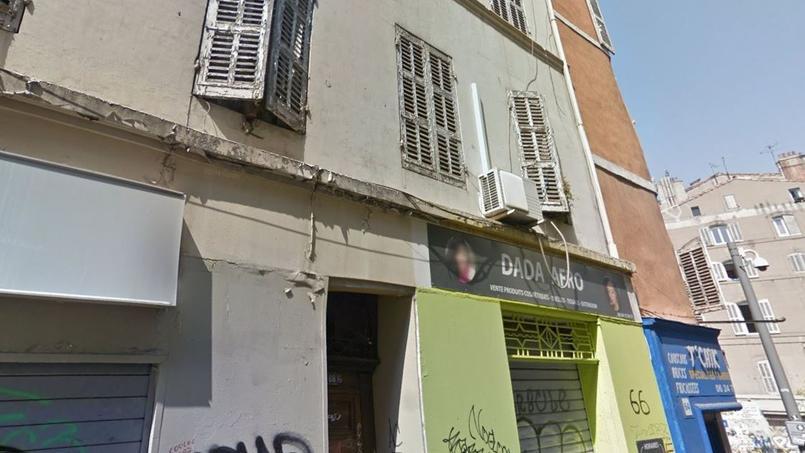 L'immeuble de la rue d'Aubagne dont Groupama refuse de couvrir l'effondrement