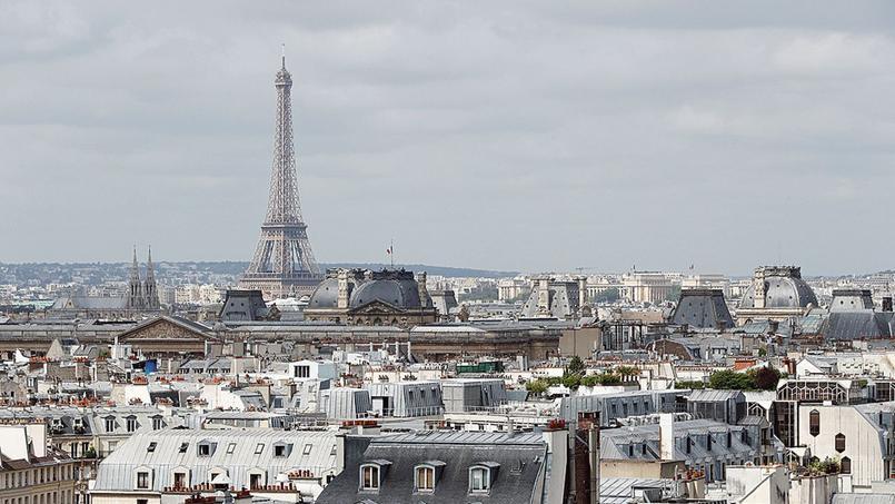 Une vue des toits de la capitale.