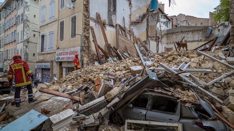 En novembre dernier, deux effondrements à Marseille se sont effondrés