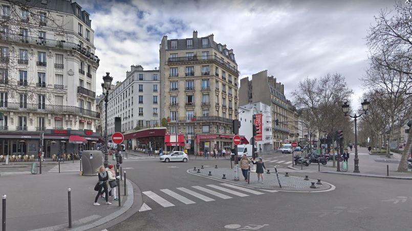 La rue des Martyrs est une des adresses les plus prisées du IXe arrondissement de Paris (capture d'écran via Google Maps)