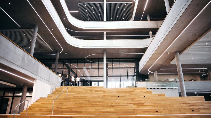Interior of Zalando HQ in Berlin