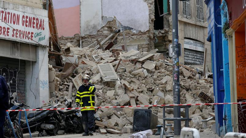 C'est dans le prolongement de l'effondrement d'immeubles à Marseille (notre photo d'archives) que la Fondation Abbé Pierre a mûri son appel.