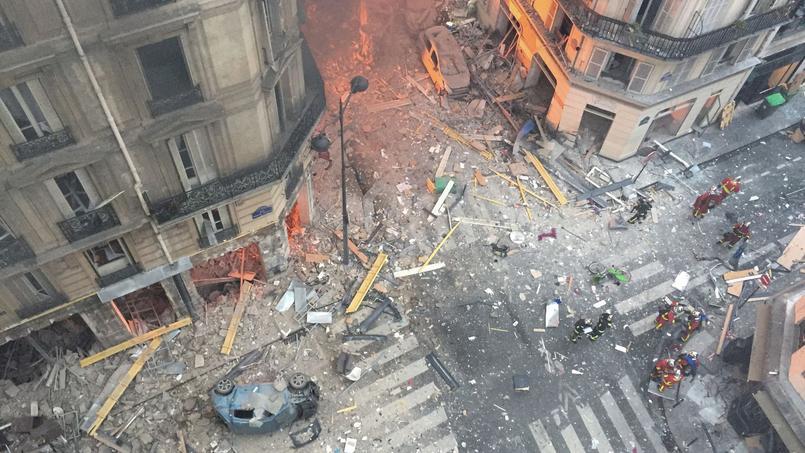 Rue de Trévise et aux alentours, douze immeubles ont été frappés d'interdiction d'habiter par la préfecture de police de Paris