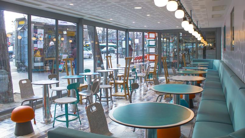 Le design du McDonald's d'Austerlitz a été intégralement repensé.
