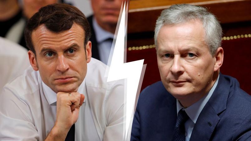 Emmanuel Macron et Bruno Le Maire ne semblent pas tout à fait sur la même longueur d'onde au sujet de la taxation des plus-values sur les résidences principales.