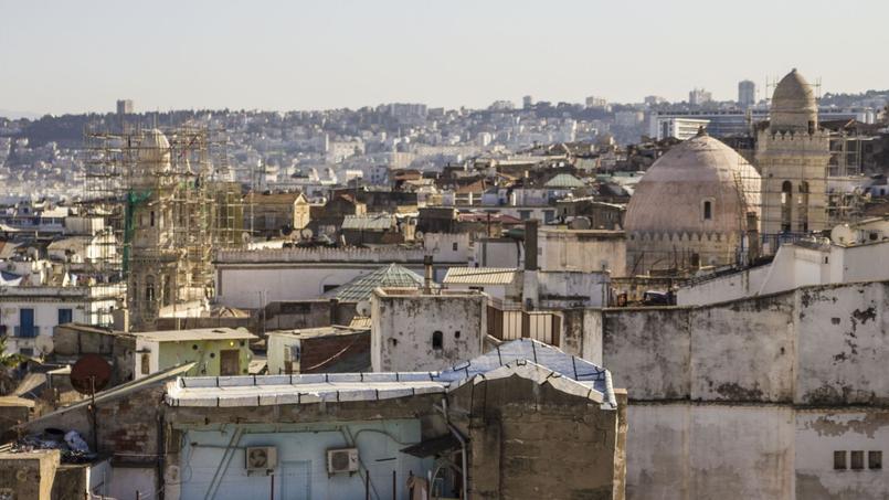 Le quartier historique de la Casbah à Alger