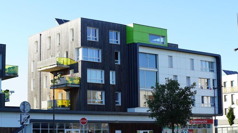 Image d'illustration de logements sociaux à Grande-Synthe, dans le Nord.