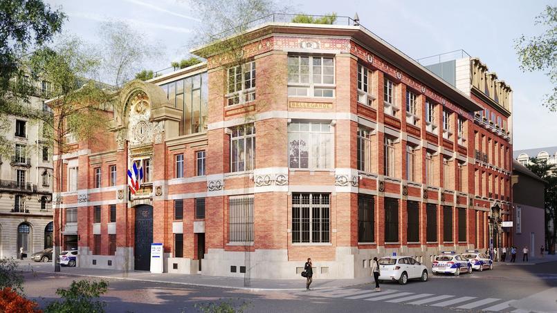 Le futur commissariat de Paris-Centre, situé dans le IIIe arrondissement