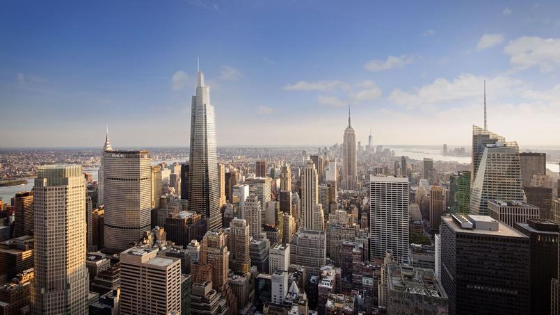 Le One Vanderbilt, à New York, un gratte-ciel de 427 mètres qui doit être achevé pour 2021.