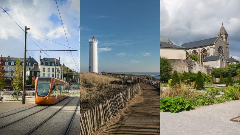 De gauche à droite: Le Mans (72), Saint-Hilaire-de-Riez (85) et Limoges (87).