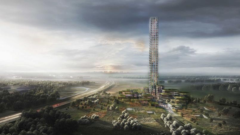 La tour Bestseller sera visible à 60 km de distance.