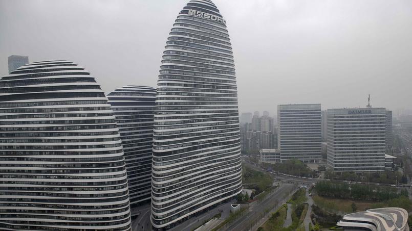 Cet ensemble immobilier, dessiné par l'architecte Zaha Hadid, ne serait pas «feng shui» selon un blogueur chinois.