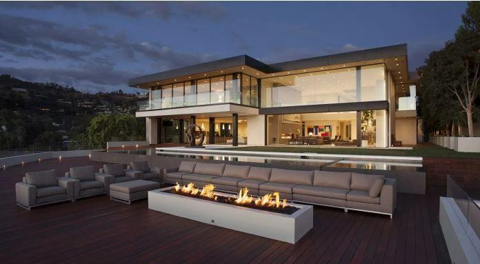 Plusieurs actifs auraient été acquis avec de l'argent détourné en Malaisie. Parmi eux, cette villa de 1200 m² située à Beverly Hills (Los Angeles).