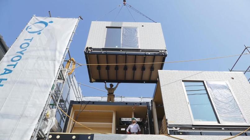 Avec sa filiale Toyota Housing, le constructeur automobile est déjà présent sur le marché de l'habitat modulaire.