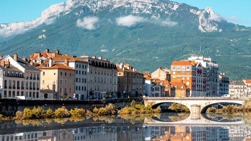 Vue générale de Grenoble.