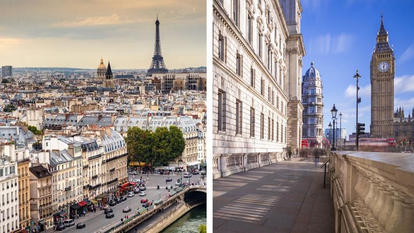 Au coude-à-coude, Paris et Londres sont les deux villes d'Europe où les loyers moyens sont les plus élevés