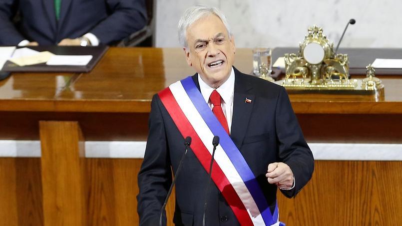 Le président du Chili Sebastian Piñera