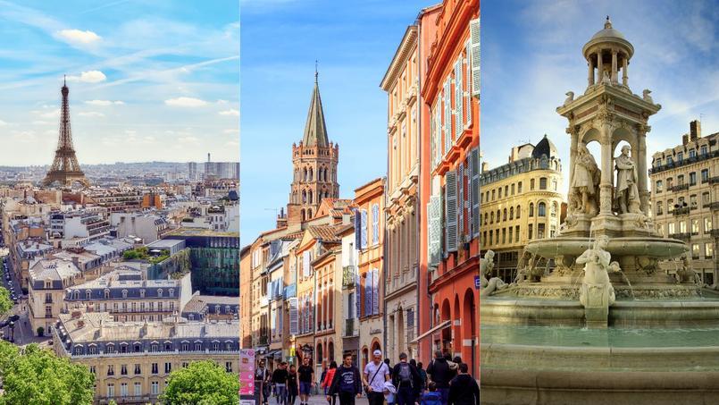 Paris, Toulouse et Lyon: les trois villes qui ont attiré le plus d'étudiants en 5 ans