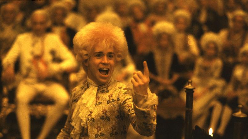 Tom Hulce incarne dans «Amadeus» un Mozart espiègle qui n'a pas peur de casser les codes de la société.