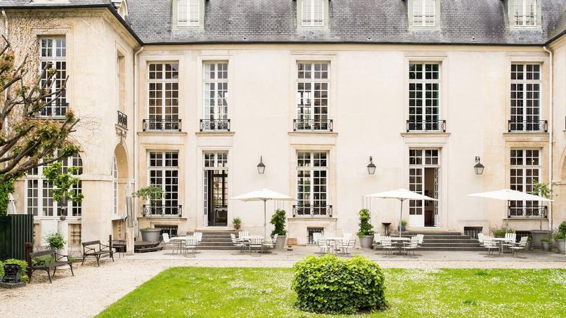 L'Hôtel de Marle dans le Marais