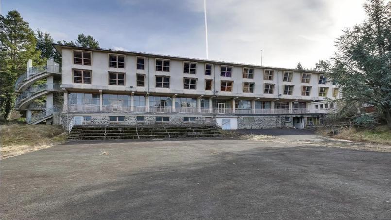 Une photo de l'état actuel du bâtiment.