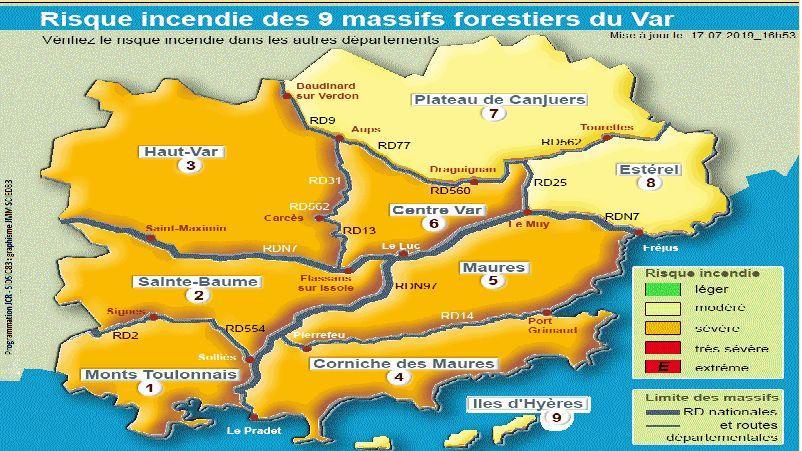 Risques Dincendie Dans Le Sud De La France Quels