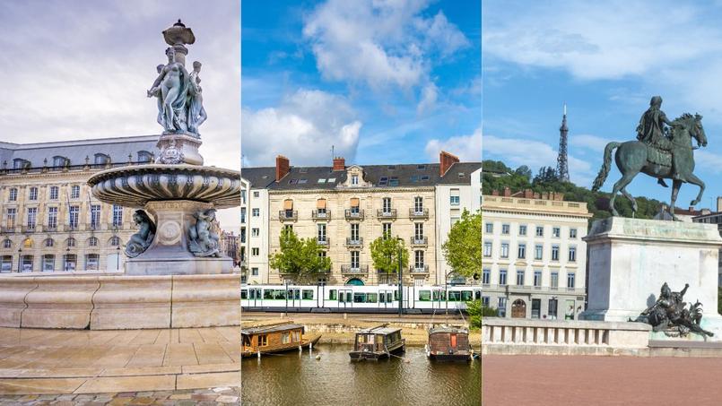Dans l'ordre, Bordeaux, Nantes et Lyon sont les villes préférées des cadres parisiens pour s'installer