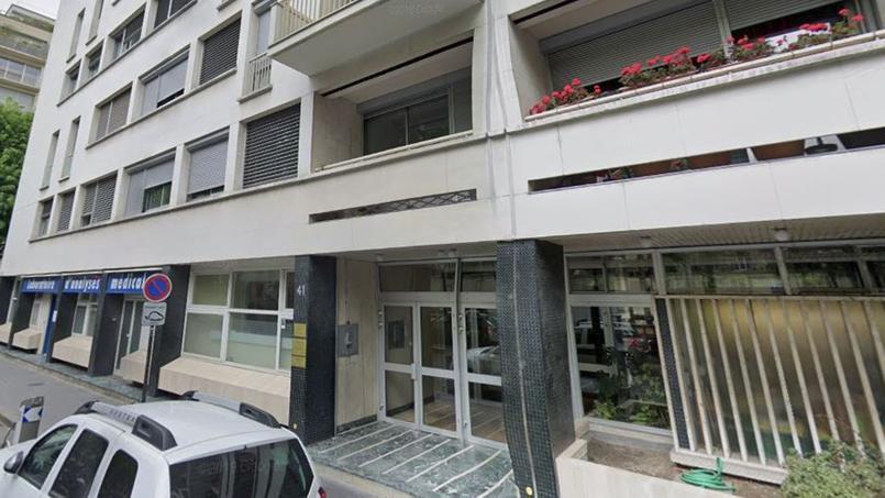 La famille vit dans cet immeuble de l'avenue Bosquet.