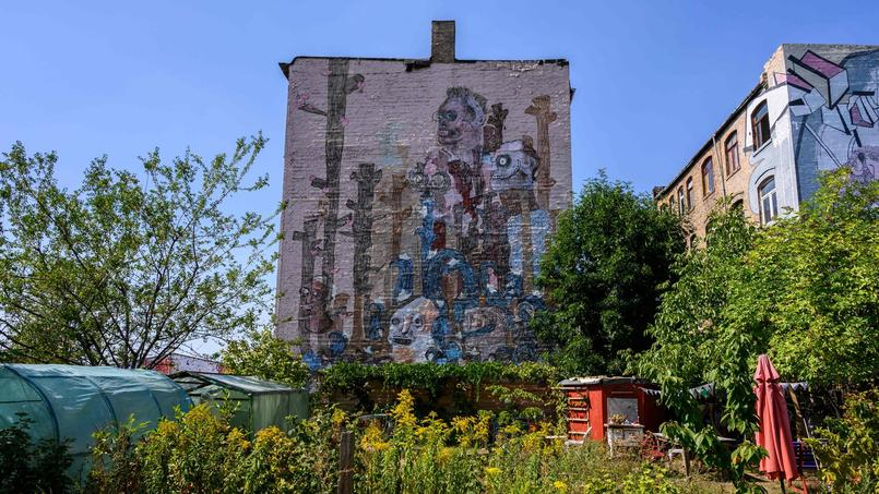 GERMANY-CULTURE-PAINTING-POVERTY-ARCHITECTURE