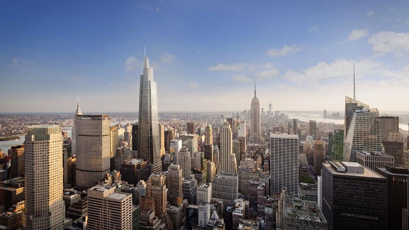 Un nouveau point de repère dans l'horizon new-yorkais.