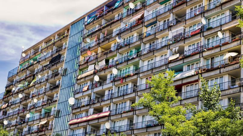 Des logements sociaux dans le quartier de Schöneberg, au centre de Berlin