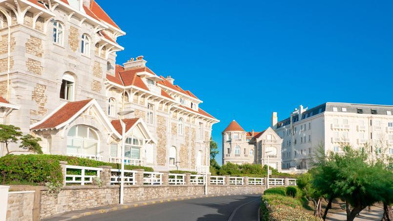 Des maisons à Biarritz.