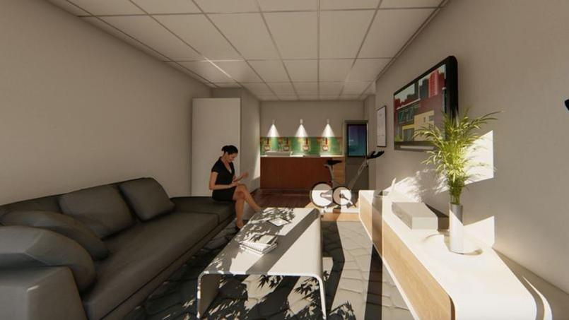 Vue 3D de l'appartement connecté à Montpellier