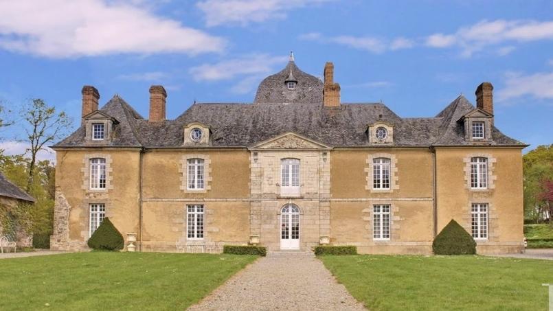 Le château du Bois Glaume, au sud de Rennes.