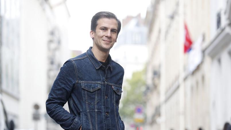 Gaspard Gantzer, candidat à la mairie de Paris