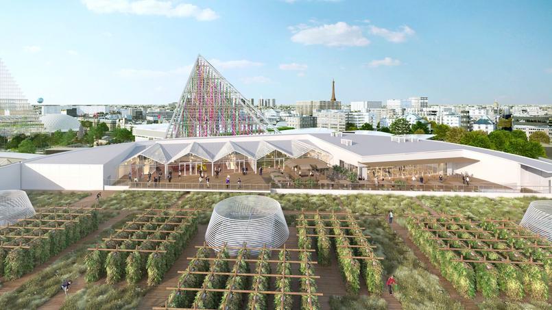La future ferme urbaine de Paris Expo